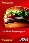 Menu andalan Jogja Burger